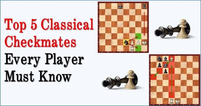 top 5 checkmates